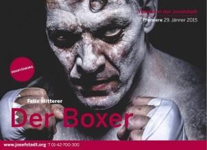 Josefstadt Mitterer Boxer Plakat