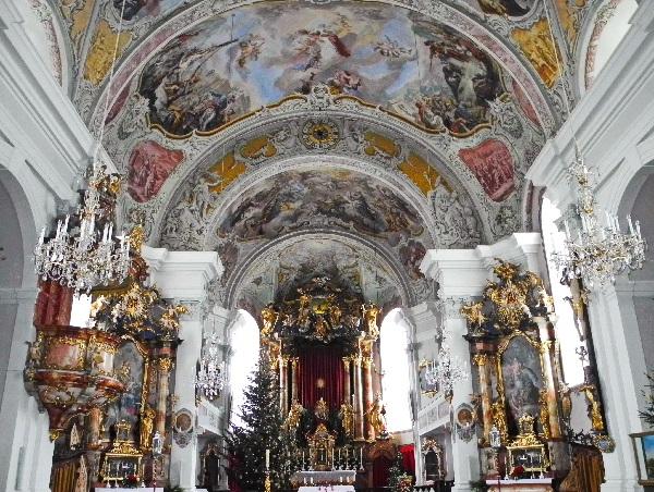 Söll, spätgotische Pfarrkirche, innen