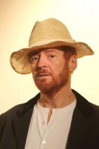 Van Gogh Hauser mit Hut