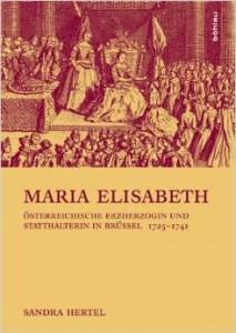 BuchCover Hertel, Sandra, Maria Elisabeth