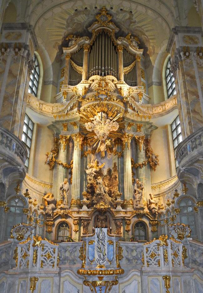 Dresden, Frauenkirche, Hochaltar, c