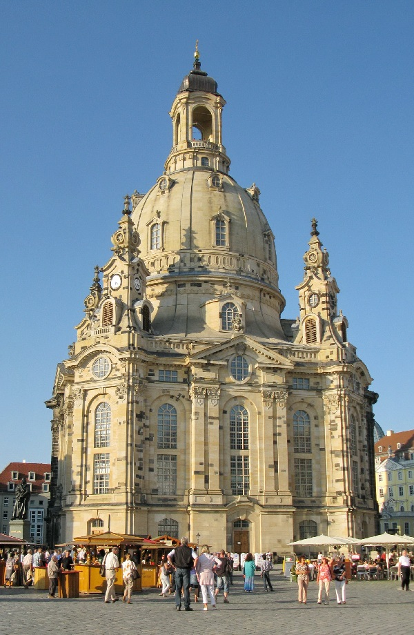 Dresden, Frauenkirche im Sommer