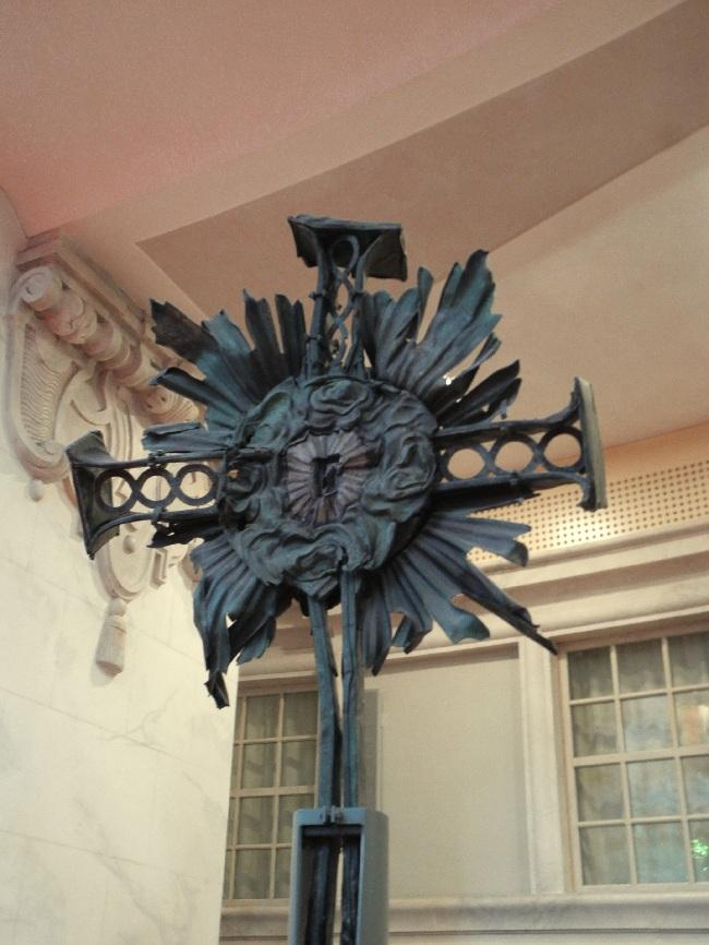 Dresden, Turmkreuz der zerstörten Frauenkirche