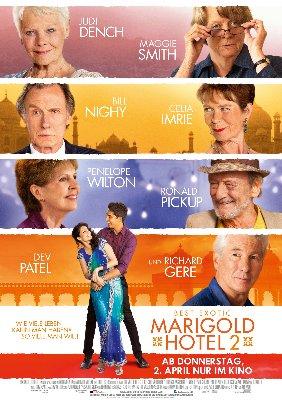 FilmPlakat Best Exotic Marigold Hotel 2~1