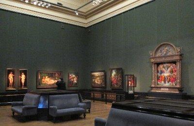 KHM Raumansicht mit Cranach und Dürer~1