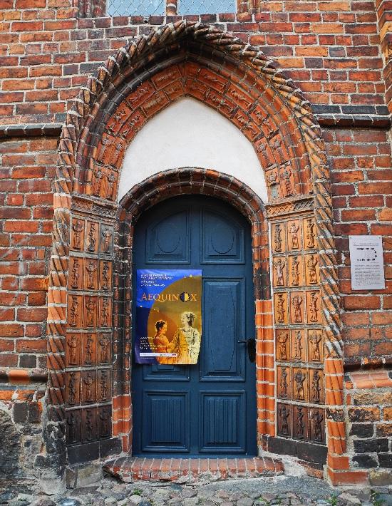 Siechenhauskapelle, Portal