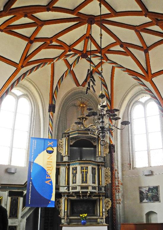 Siechenhauskapelle, geweiht 1491, Altarraum
