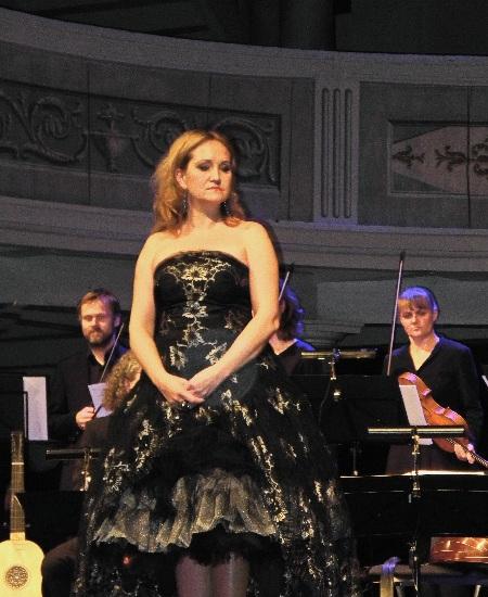 Simone Kermes, die Diva in Neuruppin