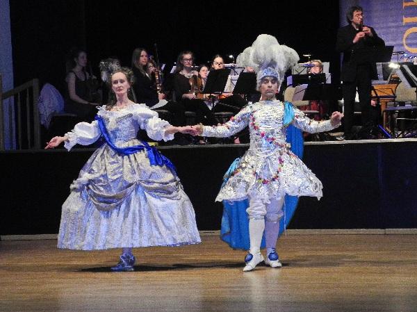 Tanznacht, Jutta Voß und Niels Badenhop, UdK Berlin