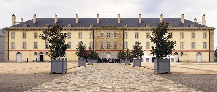 Das Museumsgebäude in Moulins-sur Allier