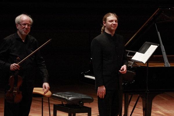 Duo-Recital, Gidon Kremer,  Denis Kozhukhin, Foto Thomas Bartilla