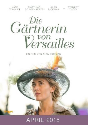 FilmPlakat Gärtnerin von Versailles~1