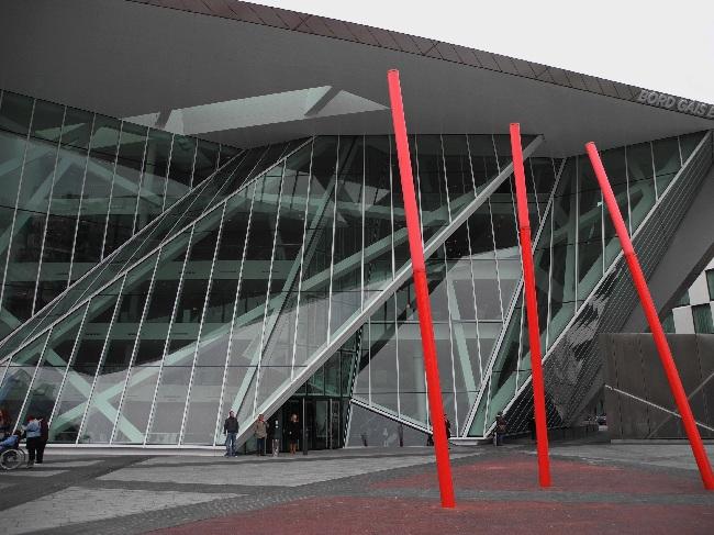 Grand Canal Square Theatre , Daniel Libeskind, 2010