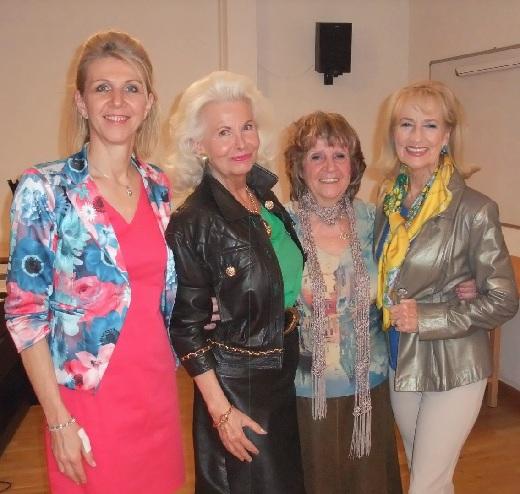 Ingrid Fux,Manuela Miebach, Mag.Edith Veith, Dagmar Koller