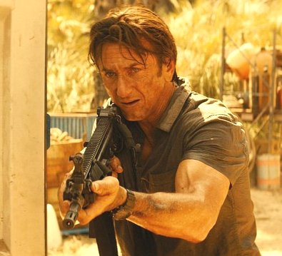 Sean Penn schießt