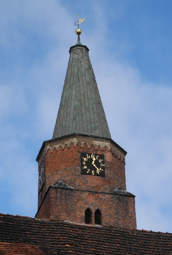 Turmspitze des Doms von Carl Friedrich Schinkel, 1836