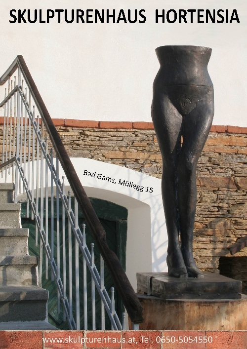 Skulpturenhaus Poster