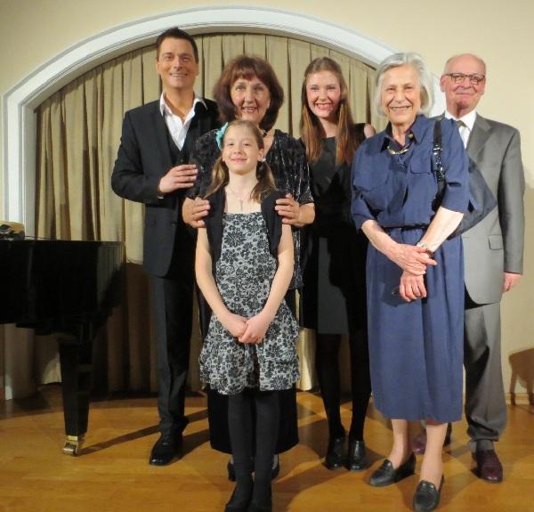 v.l. Thomas Schmidt, Margit Fussi,Jolanda Klaus,Katharina Linhard und BV Stellvertreter Herbert Grausam