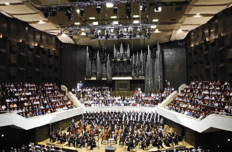 Gewandhaussaal vor Konzertbeginn, Foto Ursula Wiegand