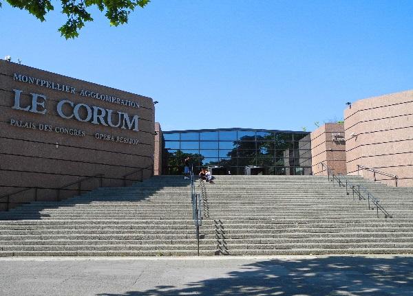 Le Corum, Kongresszentrum, 1988, Claude Vasconi