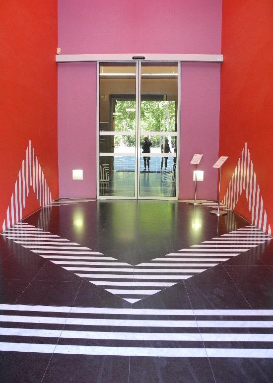 Musée Fabre, neuer Eingang von Daniel Buren, 2007
