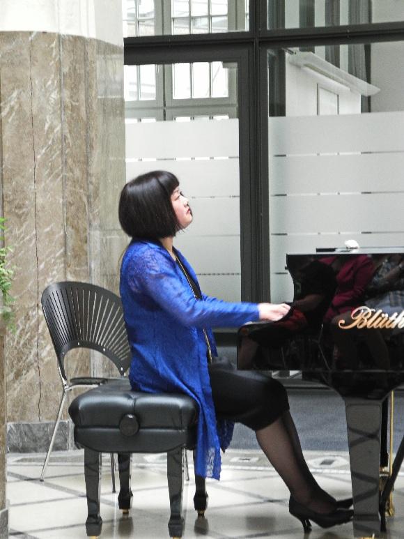 Pianistin Jin Tang, Foto Ursula Wiegand