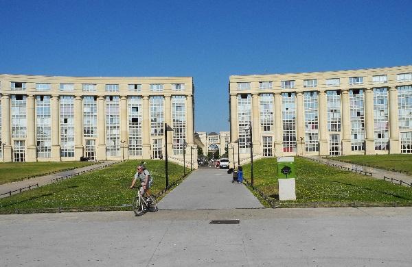Stadtviertel Antigone, 1979-2000, Esplanade de l'Europe, Ricardo Bofill