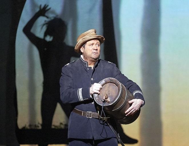"Der amerikanische Counter DAVID DANIELS als Trinculo in Thomas Adés ""The Tempest"""