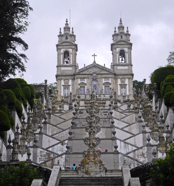 Braga, empor zum  Heiligtum des guten Jesus