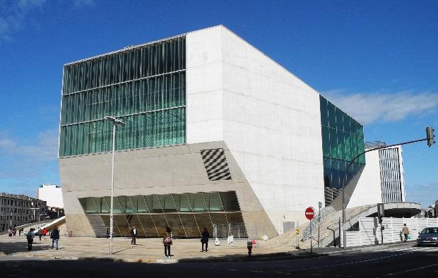 Casa da Música von Rem Koolhaas, c