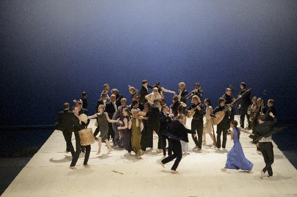 Orfeo, das Volk tanzt, ®Monika Rittershaus