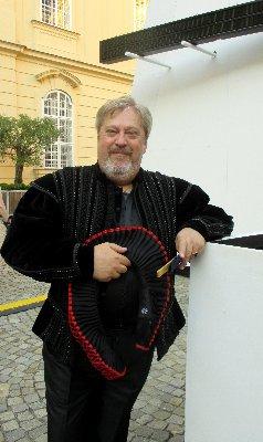 Paolo Rumetz, Klosterneuburg, vor der Aufführung~1