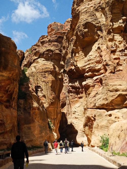 Petra, auf dem Weg ins Zentrum