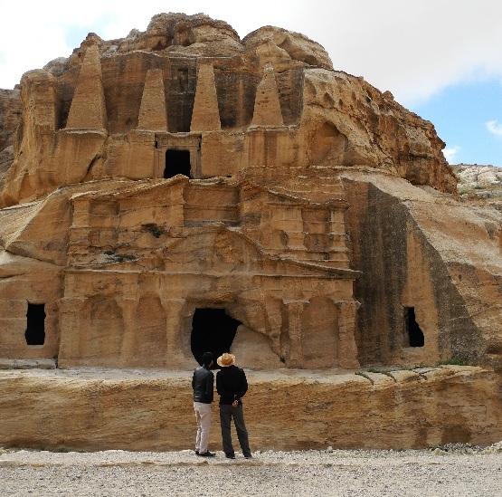 Petra, das Obeliskengrab, 25-75 n.Chr.