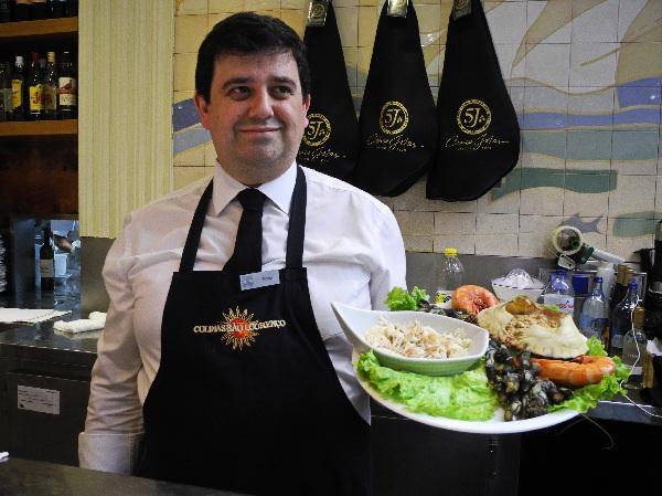 Restaurant Os Lusíadas, alles ganz frisch