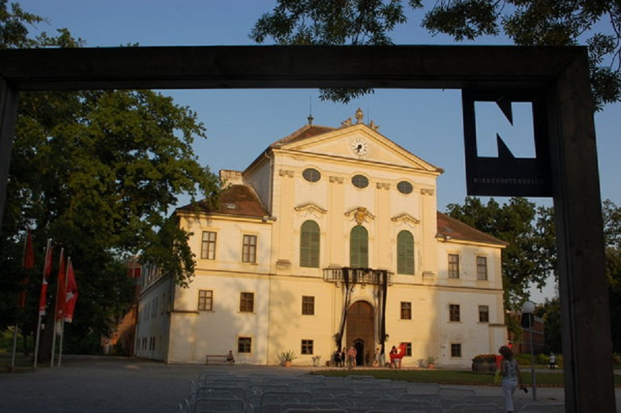 Der Schauplatz des Festivals: Schloss Kirchstetten