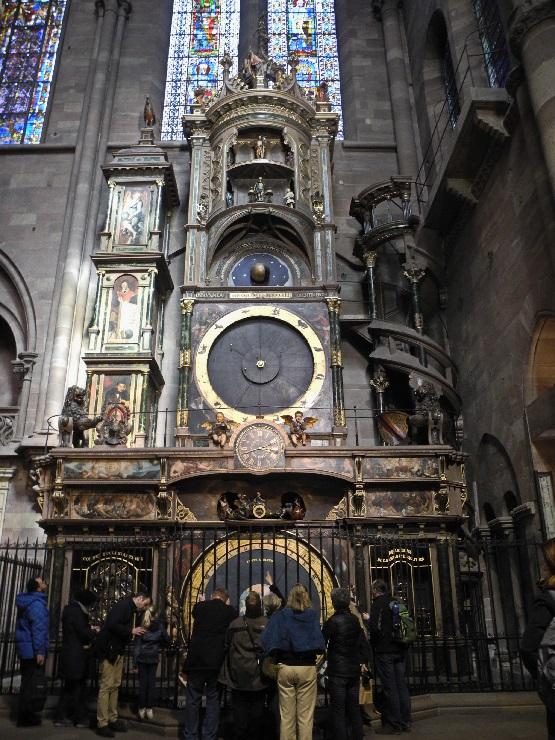 Astronomische Uhr von 1574, Andrang