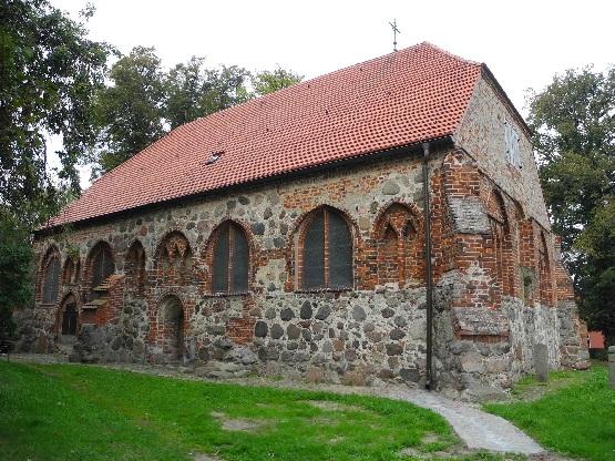 Liepe, St. Johannes Kirche von 1216