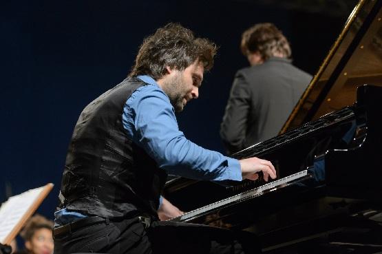 Usedomer Musikfestival, Pauli Kari spielt GREEN, Foto Peter Adamik