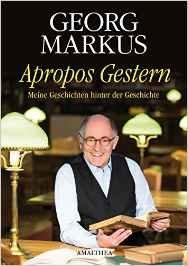BuchCover Markus. Georg Apropos gestern jpg