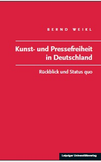 BuchCover Weikl, Pressefreiheit