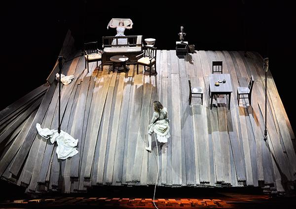 Burgtheater W Schelesnowa_Bühnenbild