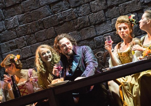 Don Giovanni Triest Tischgesellschaft