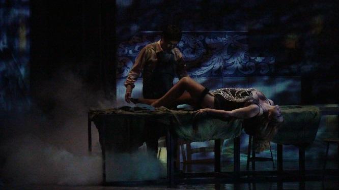 Kyungho Kim als Gennaro und Natalia Ushakova als Maliella
