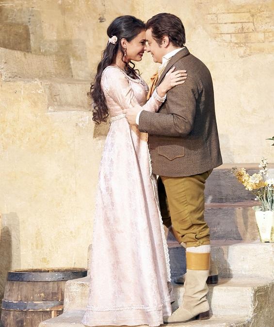 Aida Garifullina und Stefano Secco