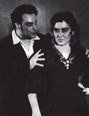Ljubomir BODUROV und Irina ARCHIPOWA in CARMEN
