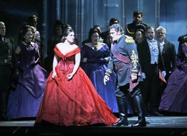"Sonya Yoncheva and Aleksandrs Antonenko perform in the Metropolitan Opera's production of Verdi's ""Otello."" (Ken HowardMetropolitan Opera)"