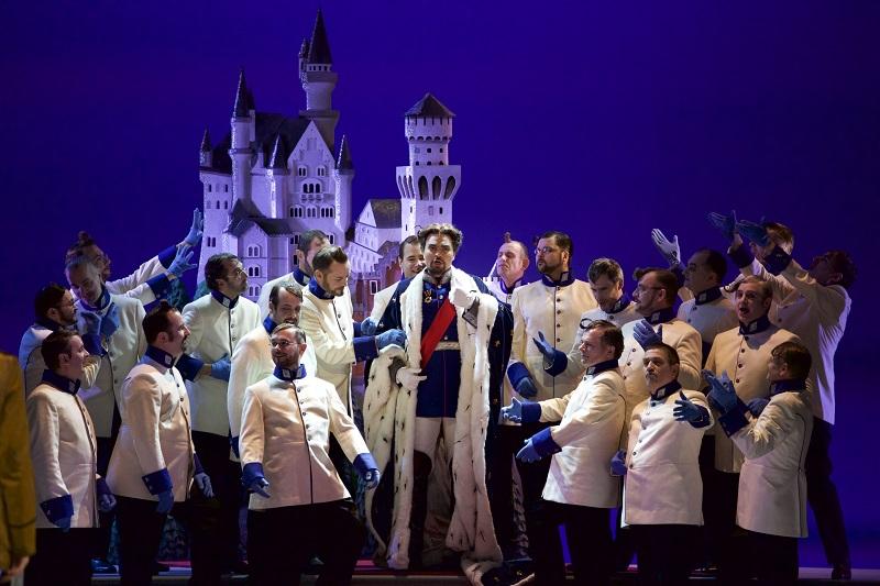 Dandinis Auftritt als Ludwig II