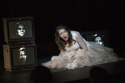Deutsche Oper, Tatiana Serjan als Aida, Foto Marcus Lieberenz