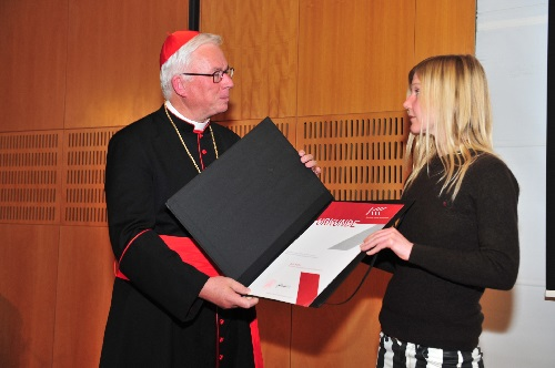 EB Lackner u. Julia Haller Foto Erzdiözese Salzburg